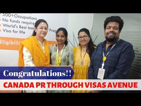 Hyderabad Client Got Canada PR through Visas Avenue
