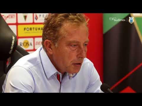 Konferencja prasowa po meczu GKS Tychy - Stomil Olsztyn