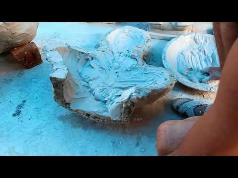 Lord Ganesha : Mould opening process  - смотреть онлайн на