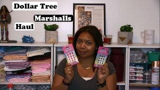 Dollar Tree & Marshall's Haul!