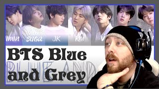 BTS - Blue and Grey Reaction   BE Album track 3