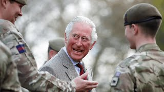 video: Watch: Prince Charles thanks soldiers in Duke of Edinburgh's funeral saying they 'did his father proud'