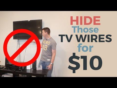 Πως να κρύψετε τα καλώδια της τηλεόρασης μέσα στον τοίχο
