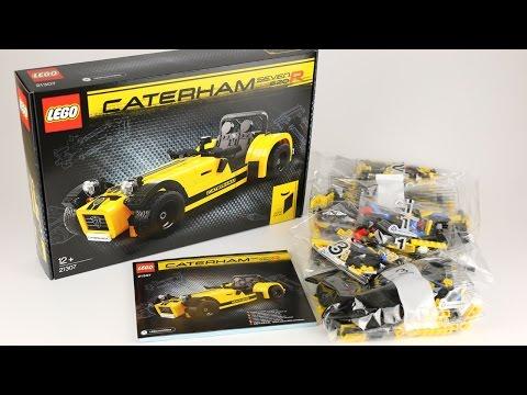Vidéo LEGO Ideas 21307 : Caterham Seven 620R