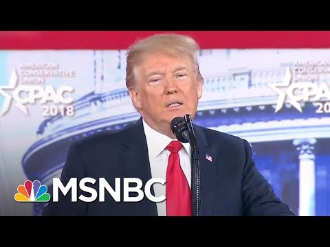 Donald Trump's CPAC Crowd Chants 'Lock Her Up!' 472 Days After Election | The 11th Hour | MSNBC