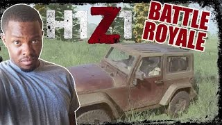 H1Z1 Hardcore Battle Royale Gameplay - ROAD KILL! | H1Z1 Hardcore Mode