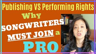 Music Publishing 101: Publisher VS PRO - Why Songwriters Must Join A PRO