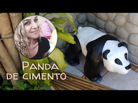 Urso Panda para Jardim