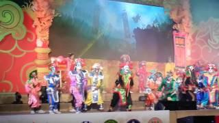 การแสดงเอ็งกอนครสวรรค์ บนเวทีงาน101ปีตรุษจีนปากน้ำโพ วันที่ 21 มกราคม 2560