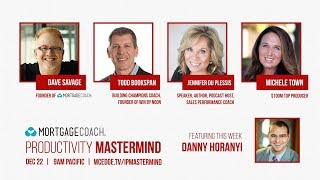 Top 3 Strategies for 2018 w/ Danny Horanyi  | #63 PRODUCTIVITY Mastermind