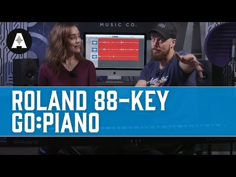 The Roland 88-Key Go:Piano - Affordable. Portable. What's Not to Love?