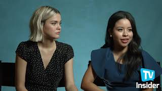 Good Troubles Maia Mitchell And Cierra Ramirez Talk Relationships And More | TV Insider