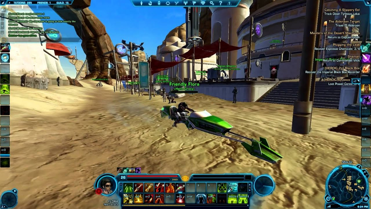 Game Face #13: 10 Reasons to Play SWTOR Pt 1