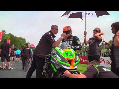 2018 Cadwell Park with FS-3 Racing Kawasaki