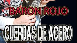 COMO TOCAR CUERDAS DE ACERO /BARON ROJO EN GUITARRA