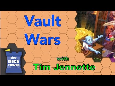 The Dice Towe: Vault Wars review - with Tim Jennette