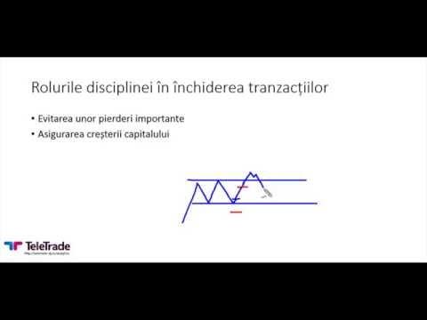 Rolurile disciplinei in inchiderea tranzactiilor