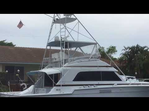Bertram 54 Convertible video