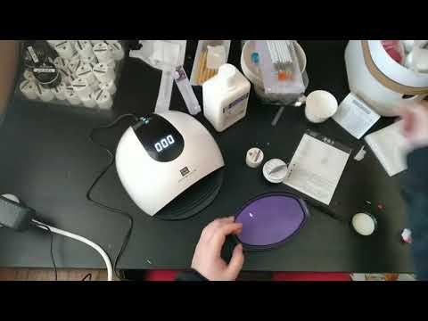 Тест LED+UV лампы Bevili color B3 80W. Быстрый просмотр
