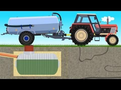 ☻ Agricultor Trabajo De La Granja - Purin | Tractores De Hadas - Esparcidor De Estiércol Líquido |