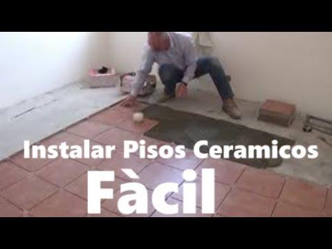 Como Instalar Pisos Ceramicos. Colocación de cerámicas