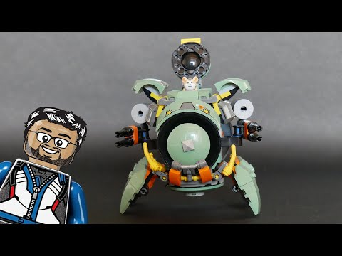 Vidéo LEGO Overwatch 75976 : Bouldozer