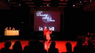 Ithaca College DWTS 2012 Liz and Will Rumba