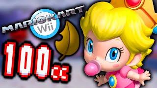 Mario Kart Wii - 100% Walkthrough PART 15 - 100CC LEAF CUP