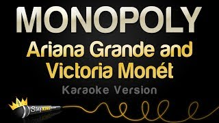 Ariana Grande And Victoria Monét    MONOPOLY (Karaoke Version)