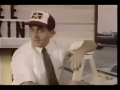 Steve Carell doing a chicken commercial in 1989