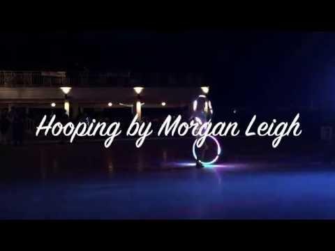 Morgan Leigh Live hoop performance at Midsummer Masquerade