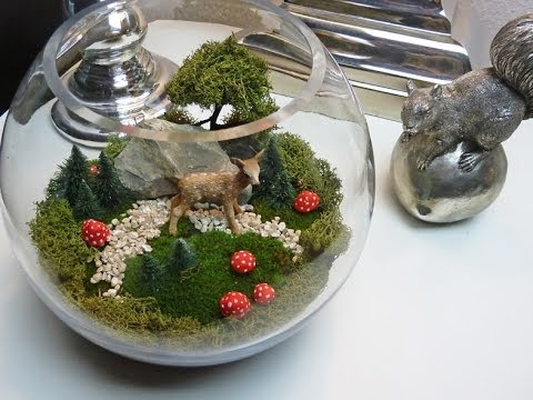 Märchenwald im Glas - So baust du eine Mini-Landschaft