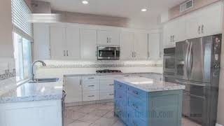 Client thrilled at that TNT finished her dream kitchen remodel in 2 weeks