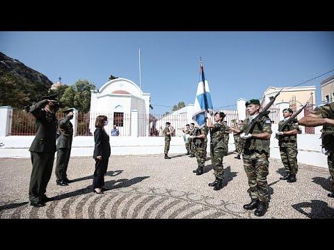 Αικ. Σακελλαροπούλου: «Το Καστελλόριζο πολύτιμο κομμάτι της πατρίδας»…
