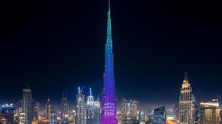 تحميل اغاني نورها روی بلندترین برج دنیا برای کمک به بیماران کرونایی به رقض آمدند… MP3
