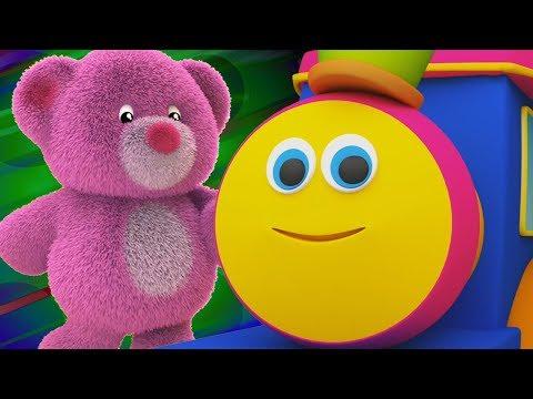bob il treno  L'orsacchiotto si gira intorno Canzoni per bambini Bob The Train  Teddy Bear Turn Song