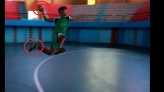 "Tutorial shoting handball ""the standing throw shot & the jump shot"""