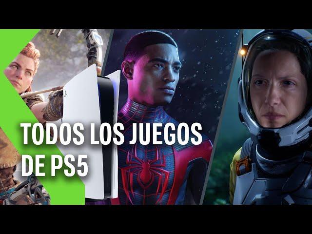 TODOS los juegos presentados de PS5: fecha de salida y detalles