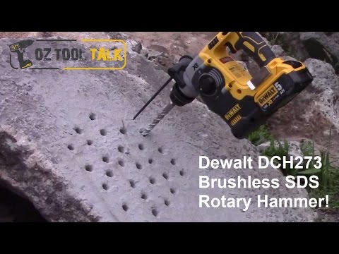 Dewalt 18V XR Brushless SDS Rotary Hammer Drill – DCH273 Review