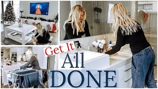 VLOGMAS DAY 2 || CLEAN WITH ME 2019 || EXTREME CLEANING MOTIVATION || DITL SAHM || JESS & TRIBE