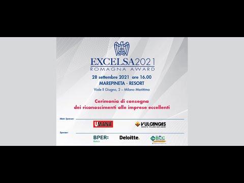 Excelsa 2021 - Confindustria Romagna award