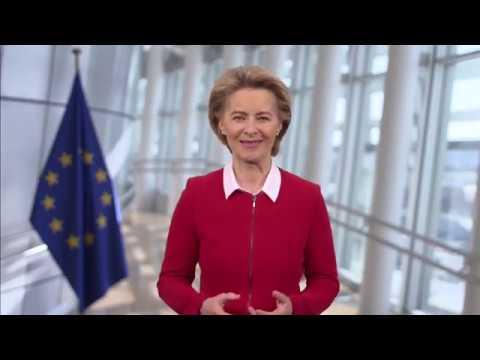 9η Μαΐου – Ημέρα της Ευρώπης | Πρόεδρος ΕΕ κ. Ούρσουλα φον ντερ Λάιεν | 09/05/2020