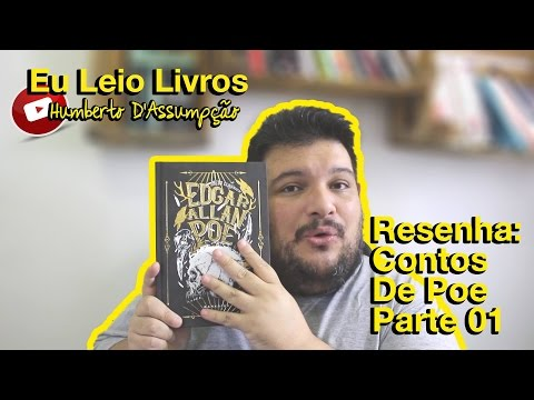 Resenha#14 - Contos de Edgar AlIan Poe - Eu Leio Livros