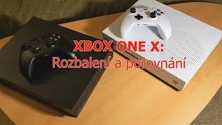 Xbox One X | Rozbalení a porovnání | Přichází konzolový král | CZ 1080p