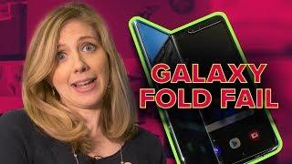 Samsung Galaxy Fold screens are already breaking