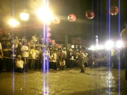 2011年 北港老塗獅表演 晚間落馬入廟 農曆三月十九 北港迎媽祖 - 北港迎媽祖