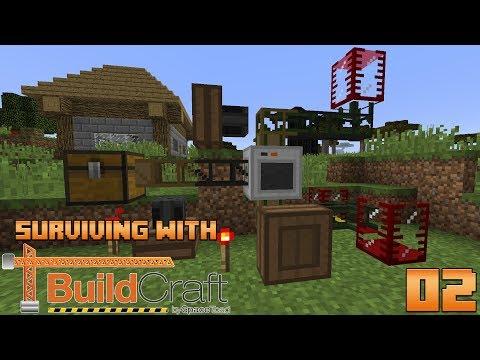 Surviving With BuildCraft 7.99 :: E02 - Ore Processor