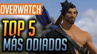 Los 5 héroes más odiados de Overwatch