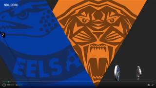Eels V Wests Tigers Round 7, 2017 Highlights