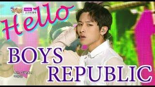 [HOT] BOYS REPUBLIC - Hello, 소년공화국 - 헬로우, Show Music core 20150606